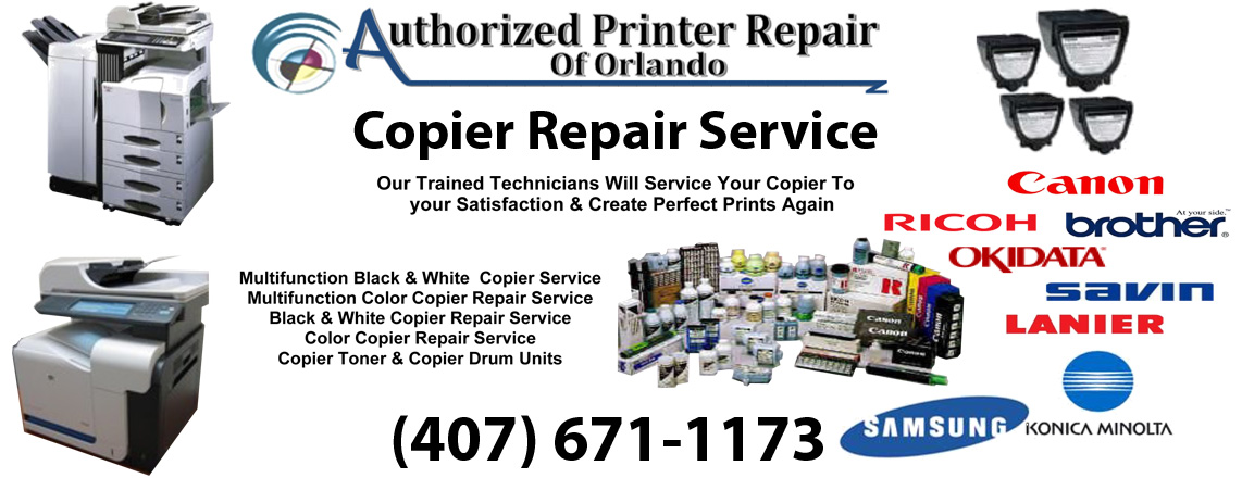 Copier Repair Services